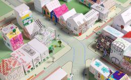 Создайте свой город из бумаги с ребенком: шаблоны зданий от архитекторов
