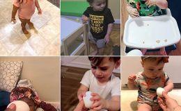 Ребенок и куриное яйцо: милый челлендж родителей в ТикТоке
