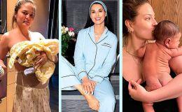 10 знаменитых мам, которые показывают свою настоящую жизнь с детьми