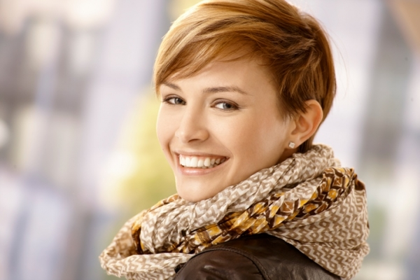 Счастливая женщина - фото