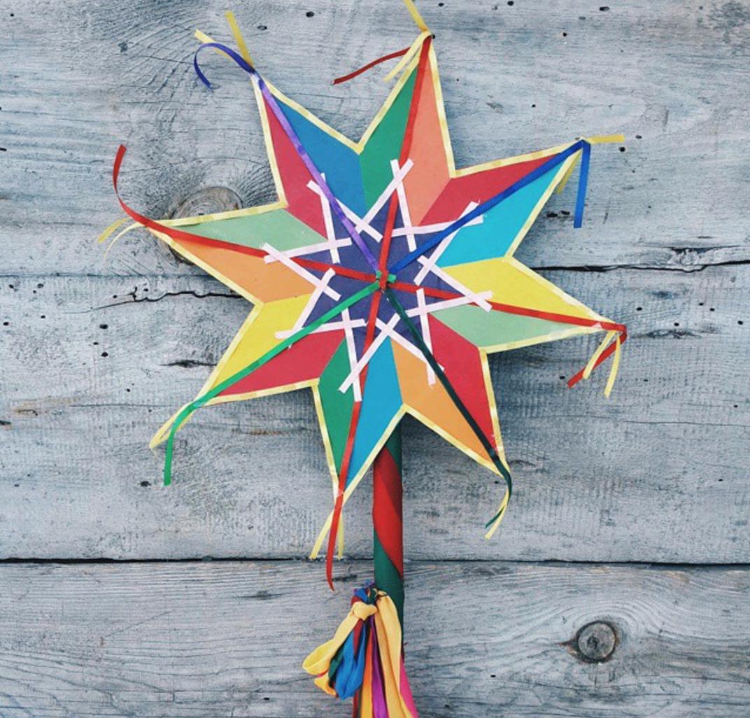 картинки рождественская звезда для коляды