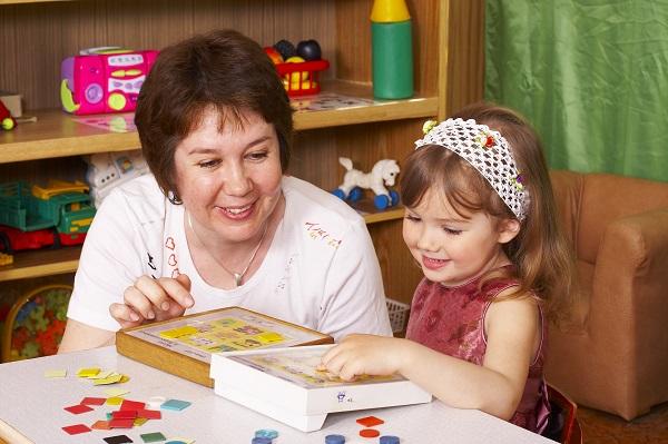Занятия с ребенком - фото
