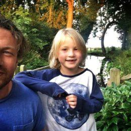 Джейми Оливер с сыном