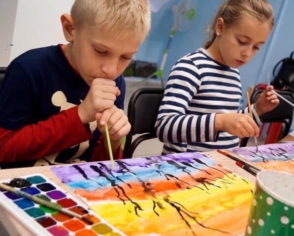 техники рисования для детей - все методы