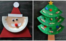 Новогодние поделки из бумажных тарелок: 15 потрясающих идей для мамы и ребенка