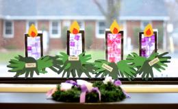 Рождественские поделки для детей: 8 красивых аппликаций