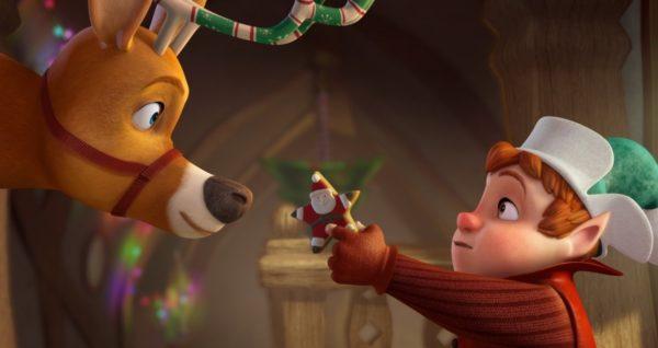 новогодние мультфильмы для детей - спасти санту