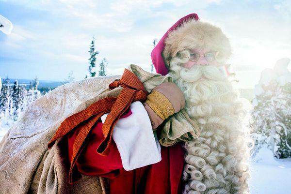 Новый год Санта клаус дед мороз