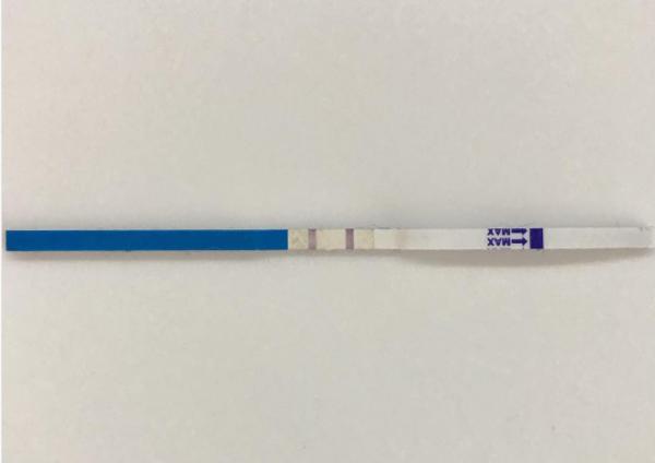 тест полоска на беременность