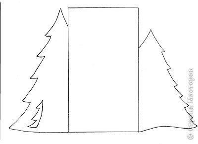 шаблоны для открыток, детские новогодние открытки, шаблоны для новогодних открыток